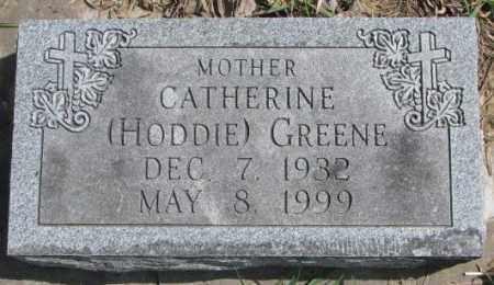HODDIE GREENE, CATHERINE - Thurston County, Nebraska | CATHERINE HODDIE GREENE - Nebraska Gravestone Photos
