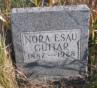ESAU GUITAR, NORA - Thurston County, Nebraska | NORA ESAU GUITAR - Nebraska Gravestone Photos