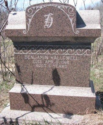 HALLOWELL, BENJAMIN - Thurston County, Nebraska | BENJAMIN HALLOWELL - Nebraska Gravestone Photos