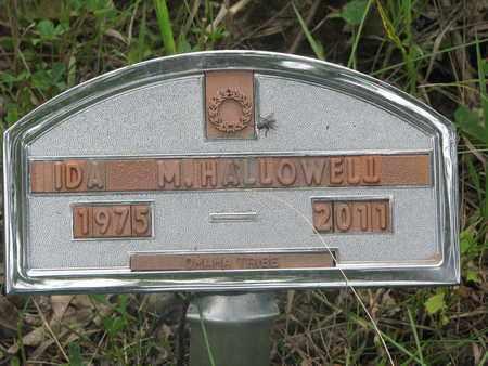 HALLOWELL, IDA M. - Thurston County, Nebraska | IDA M. HALLOWELL - Nebraska Gravestone Photos