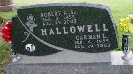 HALLOWELL, CARMEN L. - Thurston County, Nebraska | CARMEN L. HALLOWELL - Nebraska Gravestone Photos