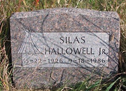 HALLOWELL, SILAS JR. - Thurston County, Nebraska | SILAS JR. HALLOWELL - Nebraska Gravestone Photos