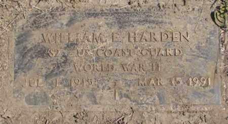 HARDEN, WILLIAM E. - Thurston County, Nebraska | WILLIAM E. HARDEN - Nebraska Gravestone Photos