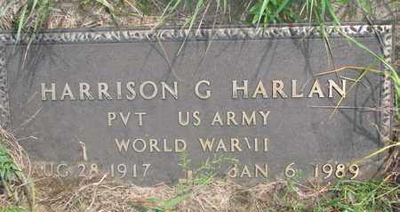 HARLAN, HARRISON G. - Thurston County, Nebraska | HARRISON G. HARLAN - Nebraska Gravestone Photos