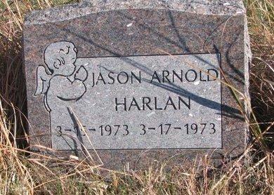 HARLAN, JASON ARNOLD - Thurston County, Nebraska | JASON ARNOLD HARLAN - Nebraska Gravestone Photos
