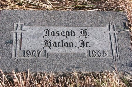 HARLAN, JOSEPH JR. - Thurston County, Nebraska | JOSEPH JR. HARLAN - Nebraska Gravestone Photos
