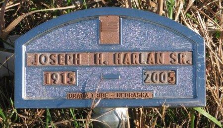 HARLAN, JOSEPH H. SR. - Thurston County, Nebraska | JOSEPH H. SR. HARLAN - Nebraska Gravestone Photos