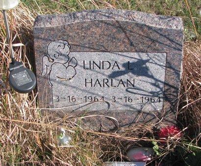 HARLAN, LINDA L. - Thurston County, Nebraska | LINDA L. HARLAN - Nebraska Gravestone Photos