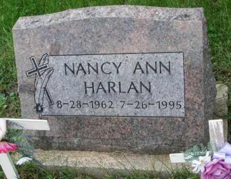 HARLAN, NANCY ANN - Thurston County, Nebraska | NANCY ANN HARLAN - Nebraska Gravestone Photos