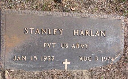 HARLAN, STANLEY - Thurston County, Nebraska | STANLEY HARLAN - Nebraska Gravestone Photos