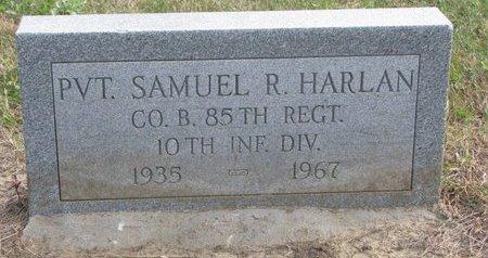 HARLAN, SAMUEL R. - Thurston County, Nebraska   SAMUEL R. HARLAN - Nebraska Gravestone Photos