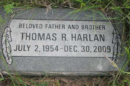 HARLAN, THOMAS R. - Thurston County, Nebraska | THOMAS R. HARLAN - Nebraska Gravestone Photos