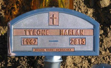 HARLAN, TYRONE - Thurston County, Nebraska | TYRONE HARLAN - Nebraska Gravestone Photos