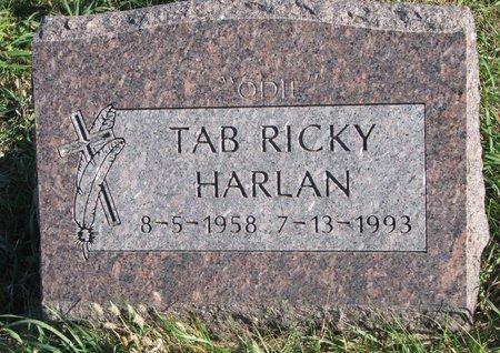 "HARLAN, TAB RICKY ""ODIE"" - Thurston County, Nebraska | TAB RICKY ""ODIE"" HARLAN - Nebraska Gravestone Photos"