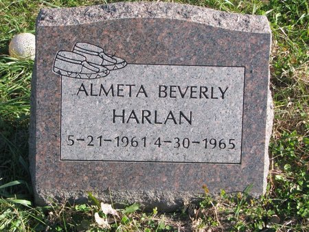 HARLAN, ALMETA BEVERLY - Thurston County, Nebraska | ALMETA BEVERLY HARLAN - Nebraska Gravestone Photos