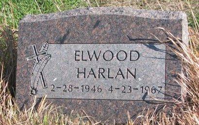 HARLAN, ELWOOD - Thurston County, Nebraska | ELWOOD HARLAN - Nebraska Gravestone Photos