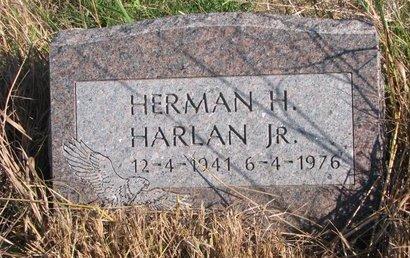 HARLAN, HERMAN H. JR. - Thurston County, Nebraska | HERMAN H. JR. HARLAN - Nebraska Gravestone Photos