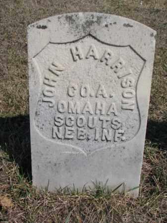 HARRISON, JOHN - Thurston County, Nebraska | JOHN HARRISON - Nebraska Gravestone Photos