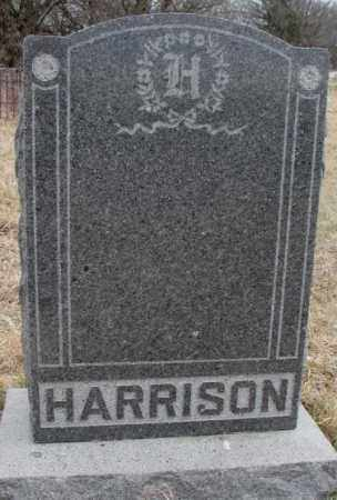 HARRISON, PLOT - Thurston County, Nebraska | PLOT HARRISON - Nebraska Gravestone Photos