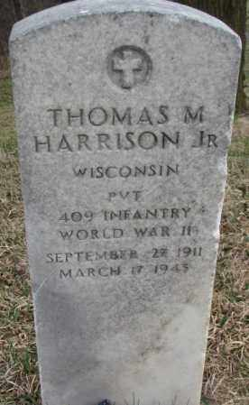 HARRISON, THOMAS M. JR. - Thurston County, Nebraska | THOMAS M. JR. HARRISON - Nebraska Gravestone Photos