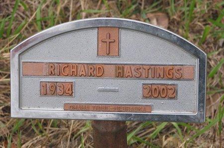 HASTINGS, RICHARD - Thurston County, Nebraska | RICHARD HASTINGS - Nebraska Gravestone Photos