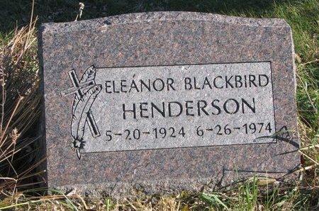 HENDERSON, ELEANOR - Thurston County, Nebraska | ELEANOR HENDERSON - Nebraska Gravestone Photos