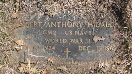 HIDALGO, ROBERT ANTHONY - Thurston County, Nebraska | ROBERT ANTHONY HIDALGO - Nebraska Gravestone Photos
