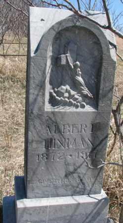 HINMAN, ALBERT - Thurston County, Nebraska   ALBERT HINMAN - Nebraska Gravestone Photos