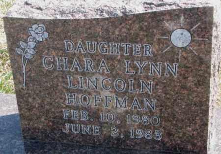 HOFFMAN, CHARA LYNN LINCOLN - Thurston County, Nebraska | CHARA LYNN LINCOLN HOFFMAN - Nebraska Gravestone Photos