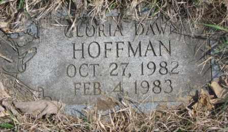 HOFFMAN, GLORIA DAWN - Thurston County, Nebraska   GLORIA DAWN HOFFMAN - Nebraska Gravestone Photos