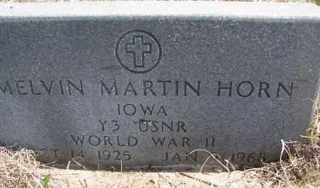 HORN, MELVIN MARTIN - Thurston County, Nebraska | MELVIN MARTIN HORN - Nebraska Gravestone Photos