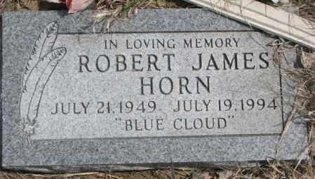 HORN, ROBERT JAMES - Thurston County, Nebraska | ROBERT JAMES HORN - Nebraska Gravestone Photos