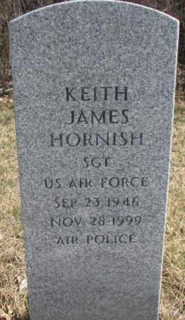 HORNISH, KEITH JAMES - Thurston County, Nebraska   KEITH JAMES HORNISH - Nebraska Gravestone Photos