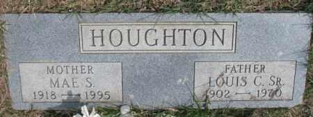 HOUGHTON, MAE S. - Thurston County, Nebraska | MAE S. HOUGHTON - Nebraska Gravestone Photos