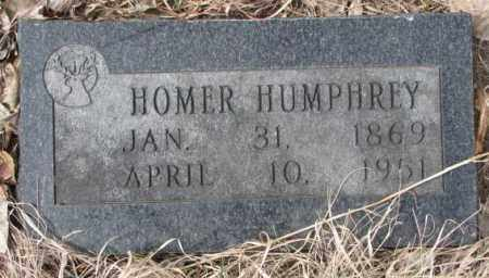HUMPHREY, HOMER - Thurston County, Nebraska | HOMER HUMPHREY - Nebraska Gravestone Photos