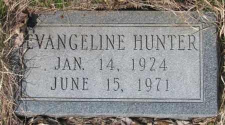 HUNTER, EVANGELINE - Thurston County, Nebraska | EVANGELINE HUNTER - Nebraska Gravestone Photos
