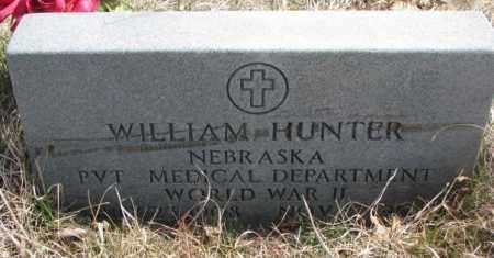 HUNTER, WILLIAM - Thurston County, Nebraska | WILLIAM HUNTER - Nebraska Gravestone Photos