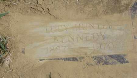 HUNTER KENNEDY, LUCY EDITH - Thurston County, Nebraska | LUCY EDITH HUNTER KENNEDY - Nebraska Gravestone Photos