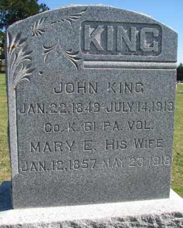KING, JOHN - Thurston County, Nebraska | JOHN KING - Nebraska Gravestone Photos