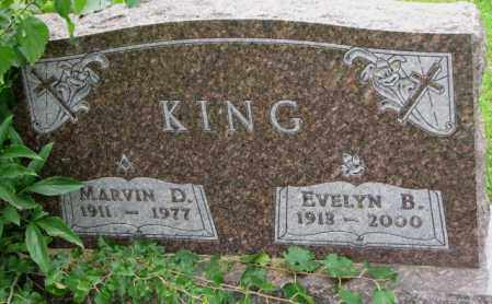 KING, EVELYN B. - Thurston County, Nebraska | EVELYN B. KING - Nebraska Gravestone Photos