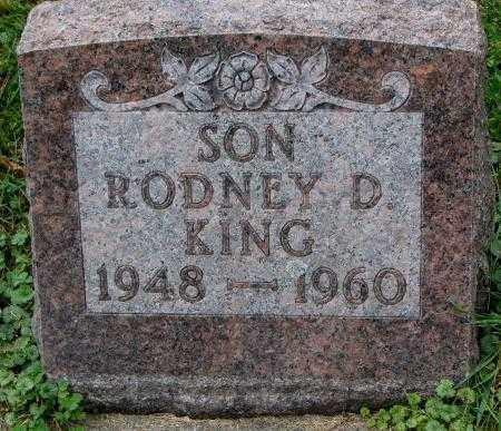 KING, RODNEY D. - Thurston County, Nebraska   RODNEY D. KING - Nebraska Gravestone Photos