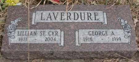 ST. CYR LAVERDURE, LILLIAN - Thurston County, Nebraska   LILLIAN ST. CYR LAVERDURE - Nebraska Gravestone Photos