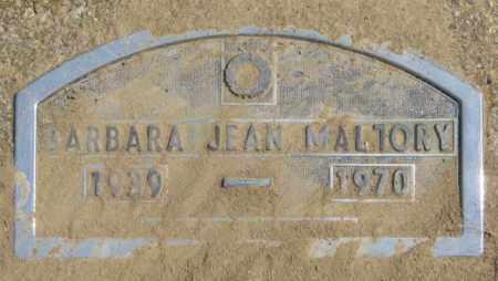 MALLORY, BARBARA JEAN - Thurston County, Nebraska | BARBARA JEAN MALLORY - Nebraska Gravestone Photos