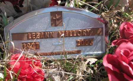 MALLORY, LEE ANN - Thurston County, Nebraska   LEE ANN MALLORY - Nebraska Gravestone Photos