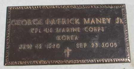 MANEY, GEORGE PATRICK JR. - Thurston County, Nebraska | GEORGE PATRICK JR. MANEY - Nebraska Gravestone Photos