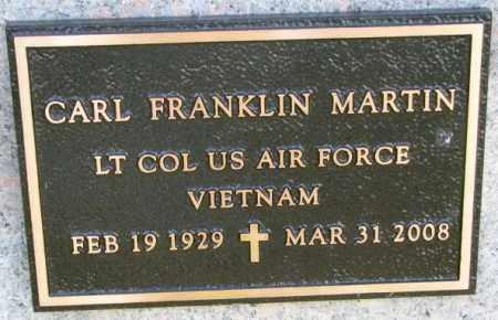MARTIN, CARL FRANKLIN (MILITARY) - Thurston County, Nebraska | CARL FRANKLIN (MILITARY) MARTIN - Nebraska Gravestone Photos