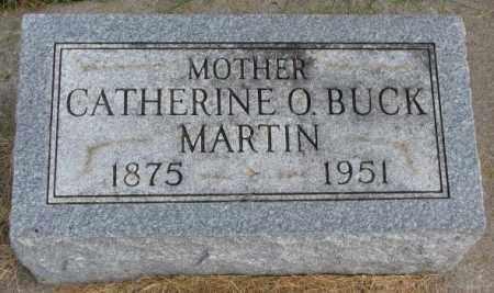 MARTIN, CATHERINE O. - Thurston County, Nebraska   CATHERINE O. MARTIN - Nebraska Gravestone Photos