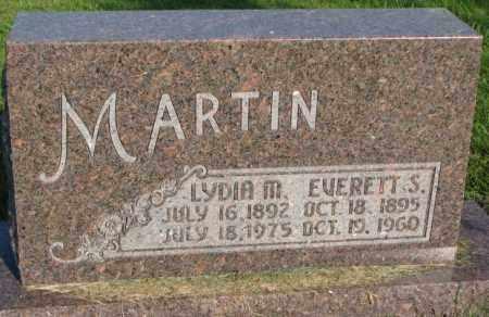 MARTIN, EVERETT S. - Thurston County, Nebraska | EVERETT S. MARTIN - Nebraska Gravestone Photos