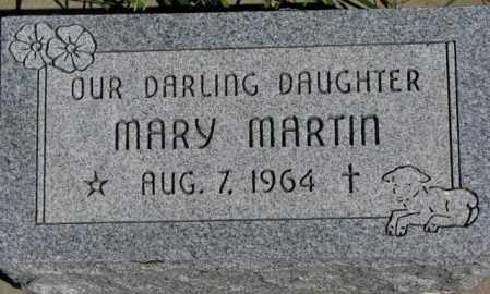 MARTIN, MARY - Thurston County, Nebraska | MARY MARTIN - Nebraska Gravestone Photos