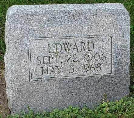 MASLONKA, EDWARD - Thurston County, Nebraska | EDWARD MASLONKA - Nebraska Gravestone Photos